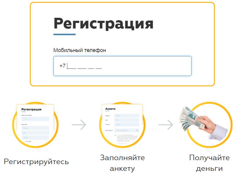вкармане-онлайн - регистрация
